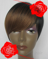 two tone crazy color Fashion Synthetic Wigs