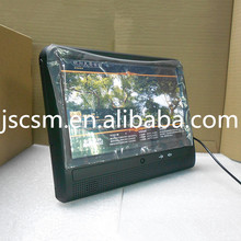 10'' inch IPS touch screen video player wall mount wifi taxi android media player