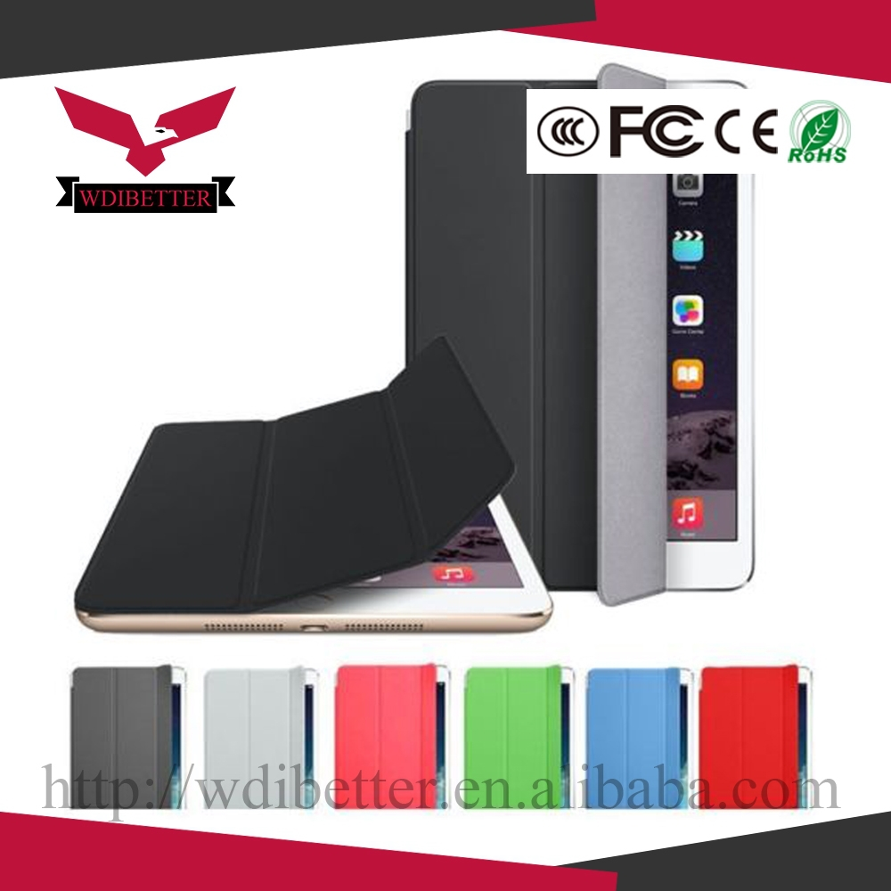 for Ipad Mini Smart Cover Magnetic Case Stand PU Leather Case for Ipad Mini 1 Mini 2 3 With Retina Display