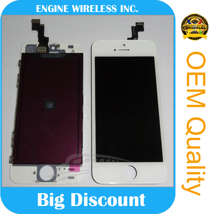 chinese touch screen mobile phones cheap for iphone 5s lcd with digitizer