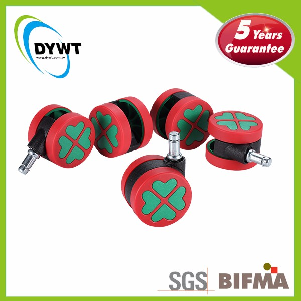 DYWT 60L1BAGUR-23 Christmas Special Rubber PU Swivel Caster <strong>Wheels</strong>