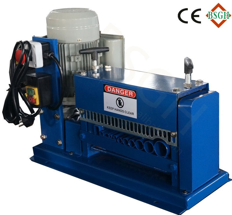 Lower price BS-015M cable wire stripping machine <strong>scrap</strong> copper wire recycling machine with CE