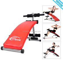 SJ-006 Home use curves fitness equipment ab incline bench for sale