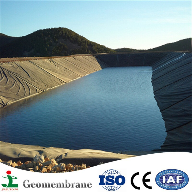 Easy installation 1mm 0.75mm or 0.5mm geomembrane fish pond liner