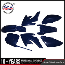 Plastic Fairing Kit Fender Plate Guard Cover for CRF70 dirt Pit Bike Procket Bike Xmotos Baja DR50 49 50cc 70 90 110 Kayo