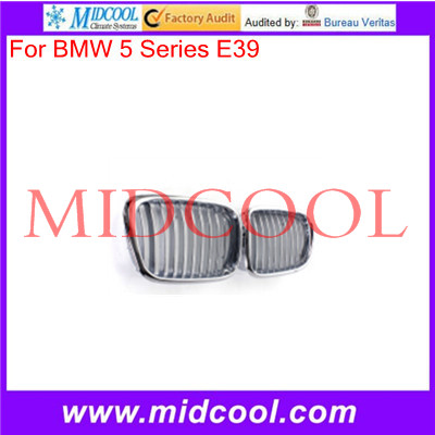 High Quality For BMW 5 Series E39 97-03 Chrome Front Hood Kidney Sport Grills
