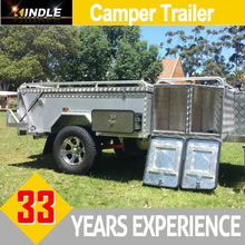 Customized Hard Floor Camper Trailer for Sale