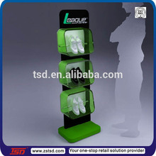 TSD-A210 Custom floor standing acrylic shoe display case,equipment for shoe store,decoration for shoe shop