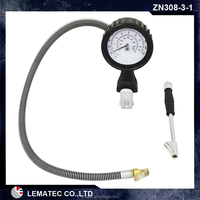 mechanical portable car tire air compressor/Portable mini air pump / vehicle tyre inflator with chuck