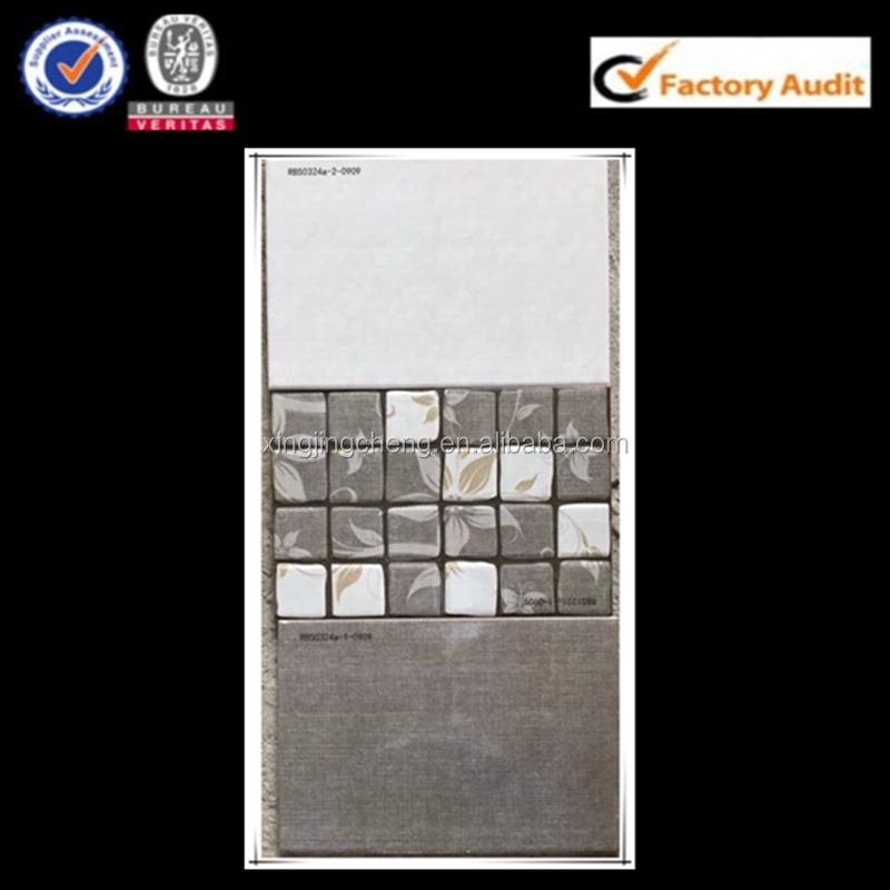 China supplier newest design grey color wall ceramicas 25x40