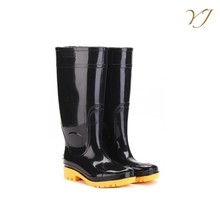 OEM orders acceptable men clear pvc transparent rain boots