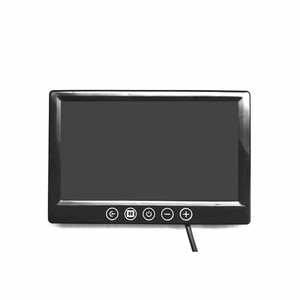 7 inch high definition mini tv car lcd reverse rear view car monitor with 2 AV input