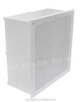 DOP HEPA Unit HEPA box terminal box with HEPA filter H13 H14 for hospital clean room project