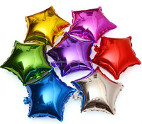 18inch foil balloon star shape blank balloon helium balloon auto-seal