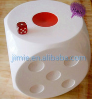 150mm custom acrylic 6 sided big dice