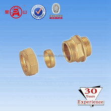 brass fitting expandable garden hose connector