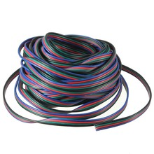 4 PIN Led RGB Light Wire Cable for 3528 5050Led Strip Light