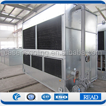 Compound Flow Closed Circuit Cooling Water Tower Industrial Water Cooler Evaporator Condenser Central Air Conditioning Supplier
