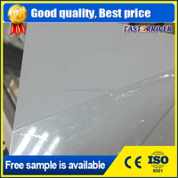 Brushed silver aluminum sublimation plate /heat transfer metal sheet