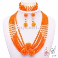 snowflake necklace earrings jewelry set long chain jewelry set Indian style jewelry set of choker design