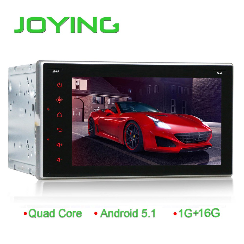 Factory price Android 5.1.1 car radio 2 din android car dvd gps Navigation / for Universal 2 din 6.2 inch car