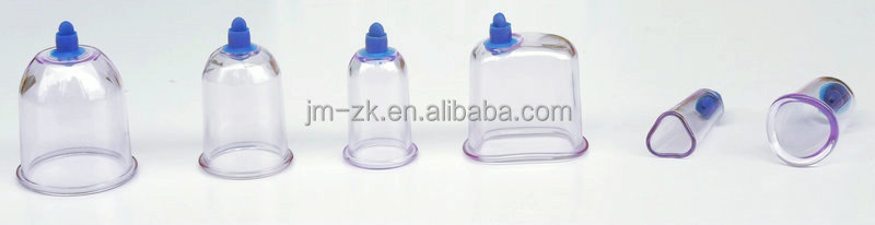Hot sale 10 pieces Plastic Traditional Chinese Cupping Set