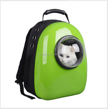 3 Colors Fashion Pet Travel Carrier Space Capsule Shaped Breathable Pet Backpack Pet Dog Bags Outdoor Portable Cat Carrier Case