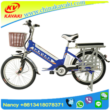 Guangzhou Factory Sale New Design 48V350W Electric Cargo bicycle