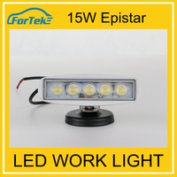 Factory wholesale led work lights 15W snap on 12v led work light with magnet base
