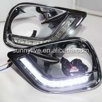 For TOYOTA RAV4 Fog Light LED Daytime Running Light 2013-2014 year