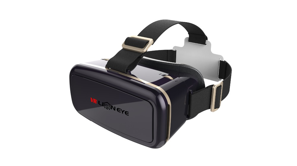 Direct Factory Sale Low Price Google Cardboard Plastic 3D VR Headset , Active VR BOX 3D Video Glasses for Mobile Phone