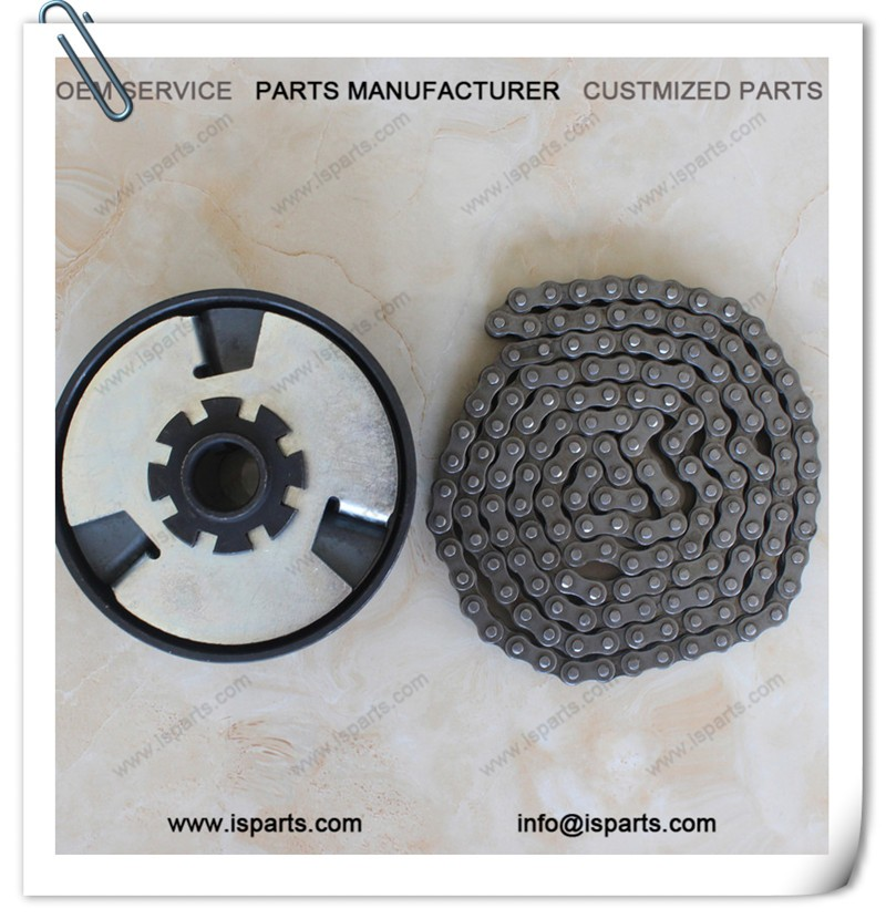 "Gokart or Mini Bike <strong>Centrifugal</strong> <strong>Clutch</strong> 3/4"" bore 13 Tooth for #35 Chain with #35 chain"