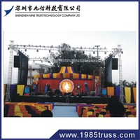 galvanized steel roof truss system semi circle roof truss outdoor stage roof truss
