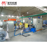 CE certificated waste plastic crush washing dewatering granulation production line wasted plastic granulator machine