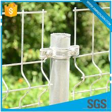 Anti-corrosive and anti-rust hot dipped galvanized OEM used chain link fence post