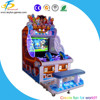 Water shooting video game machine with big LCD screen