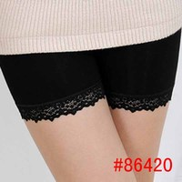Comfort bamboo underwear women safety bamboo underwear in black