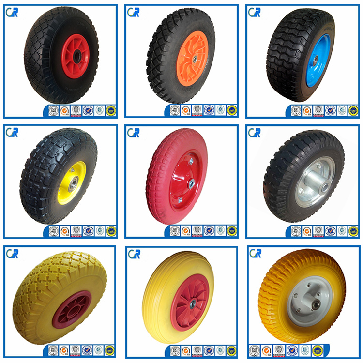 Factory supply high quality air pneumatic rubber 260x85 300-4 wheel