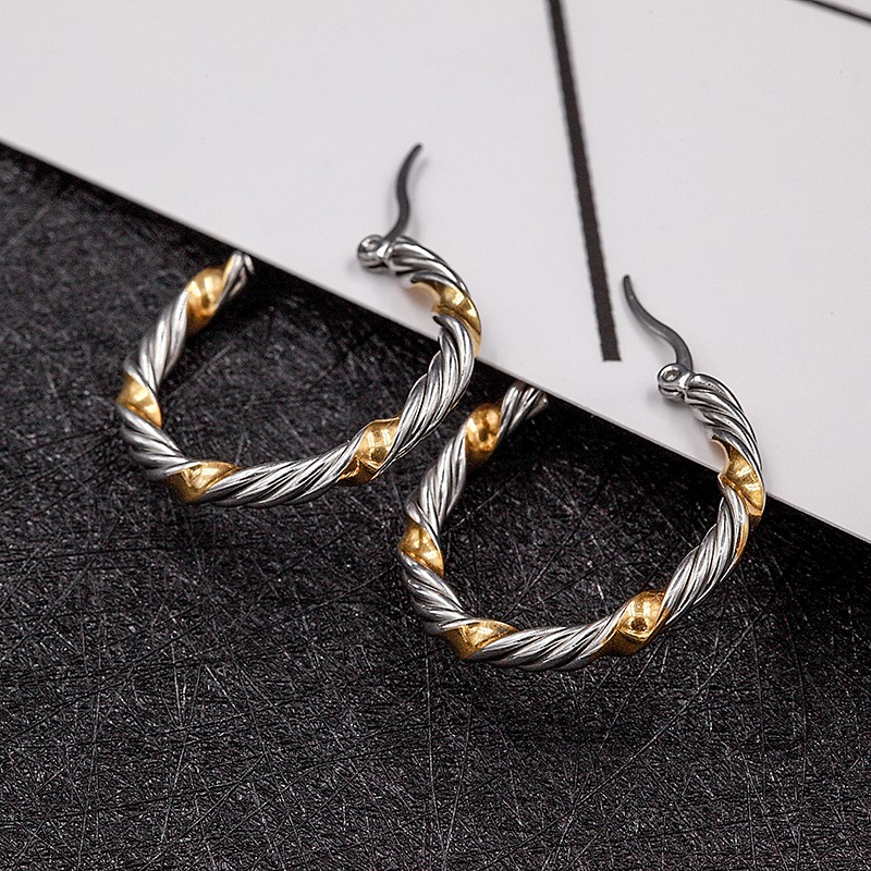 316 Stainless Steel Gold Earring Designs Pakistani For Women