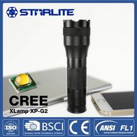 STARLITE Excellent EDC 3AAA powerful and cheap led flashlight