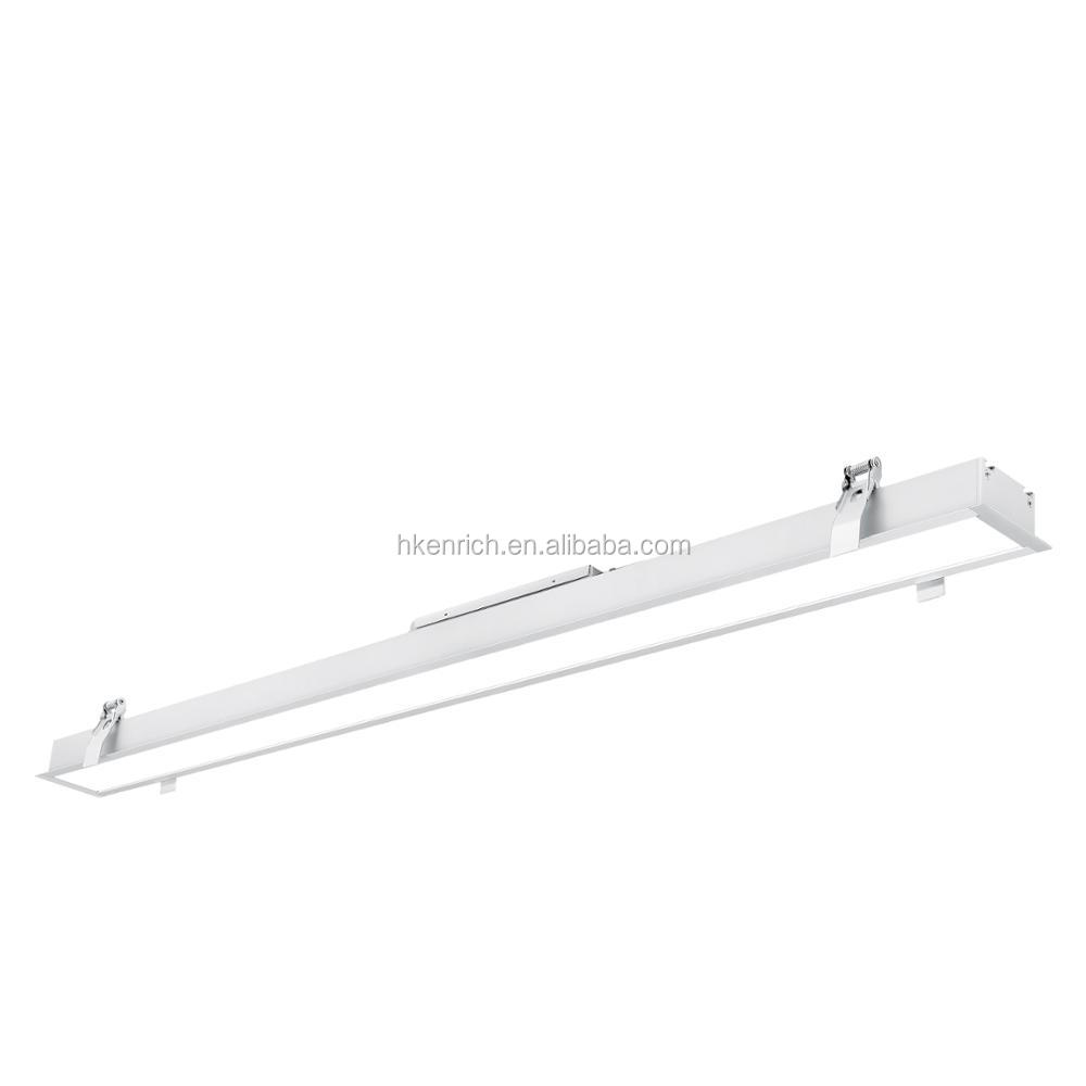 Indoor housing light recessed led linear light
