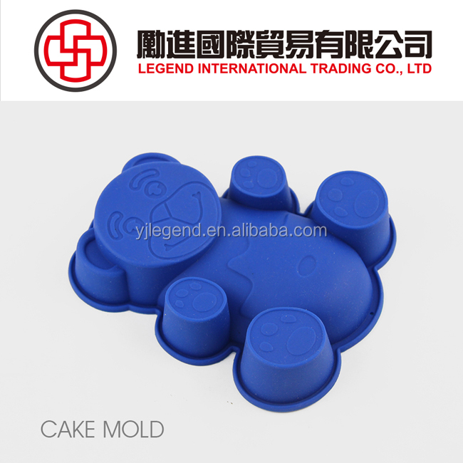Food grade pure silicone cake decorating baking molds