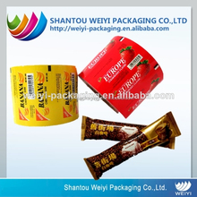 Export nut plastic foil packaging roll , coffee roll film for packing , plastic package foil film