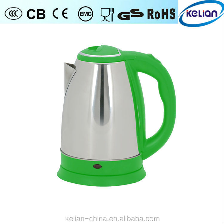 Special fashion design food grade electric kettle with many colors, electric tea sets