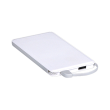 Shenzhen Mobile Power Supply, Super Slim Credit Card mi Power Bank 5000mah, Hot selling portable battery charger