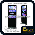 42 inch Indoor LCD LED Video Advertising with LAN WIFI 3G Internet Network