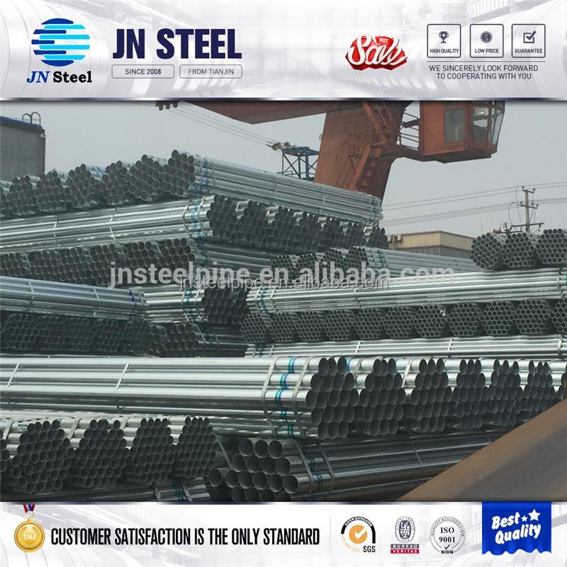 construction companies bs1387 medium galvanized steel pipe made in china with low price