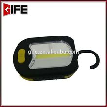 Asia Leader Lighting Products Portable 3LED and 3W COB 500 Lumen Adjustable Hanging Band and Magnet Base Working Light