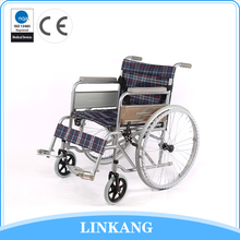 2017 hot new products comfortable non-deformed wide wheels wheelchair