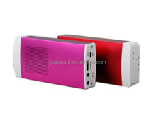 2017 new mobile power bank bluetooth speaker , 2800mah power bank with speaker design
